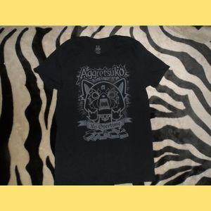 sanrio aggretsuko rage kanji T-Shirt Lootcrate